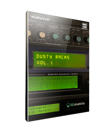 Overloud Dusty Racks Rematrix Library Box