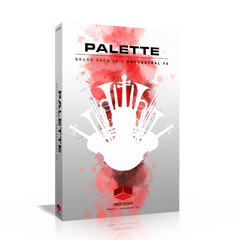Palette Brush Pack 02 Kontakt Library