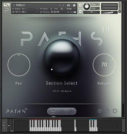 Audiomodern Path 2 user interface main screen