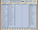 Rob Papen Quad Manager GUI
