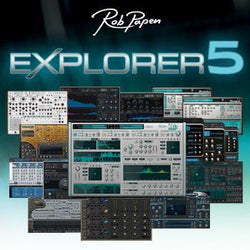 Rob Papen Explorer 5 main pic