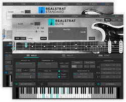 Musiclab Real Strat 5 GUI
