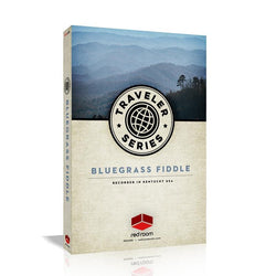 Red Room Audio Traveler Series Bluegrass Fiddle Box Art