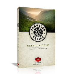 Red Room Audio Traveler Series Celtic Fiddle Box Art