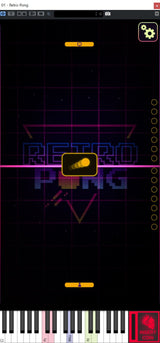 Free Lunatic Audio Retro Pong GUI