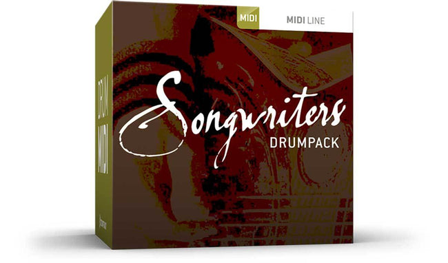 Toontrack Songwriters Drumpack MIDI