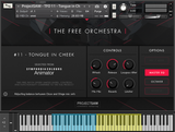 ProjectSAM The Free Orchestra interface