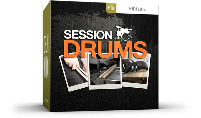 Toontrack Session Drums MIDI