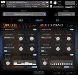 Sonuscore Origins Vol.5: Ukulele and Muted Piano Arp GUI