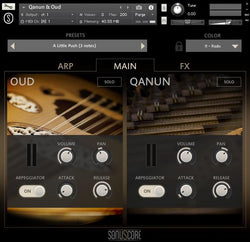 Sonuscore Origins Vol 4 Main GUI