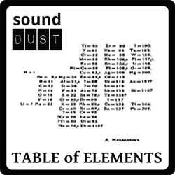 Sound Dust Table of Elements cover image