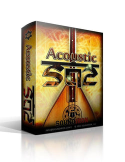 Soundiron Acoustic and Electric Saz Bundle Box Art