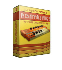 Soundiron Bontastic Vintage Organ Box Art