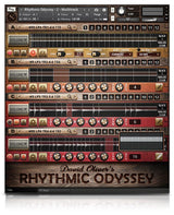 Soundiron David Oliver's Rhythmic Odyssey Multitrack GUI