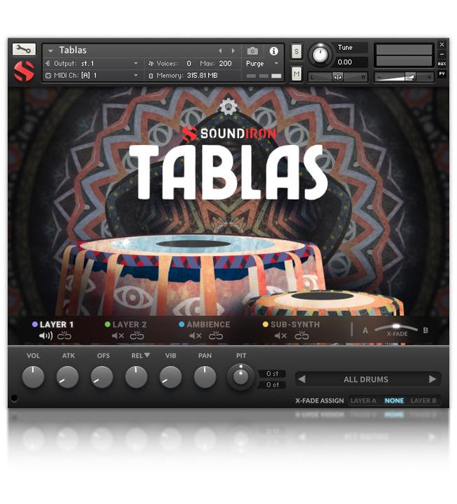 Soundiron Tablas Sample Library