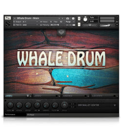 Soundiron Whale Drum Main GUI