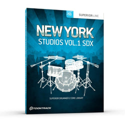 Toontrack SDX: New York Studios Vol 1