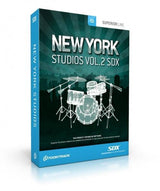 Drums Toontrack SDX: New York Studios Bundle