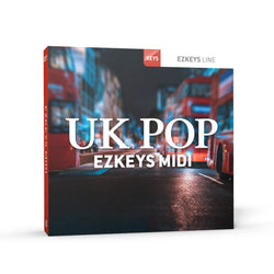 Toontrack EZkeys UK Pop MIDI Pack