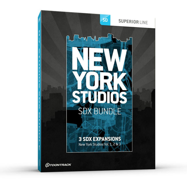 Download Toontrack SDX: New York Studios Bundle