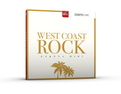 Toontrack EZkeys West Coast Rock MIDI Pack