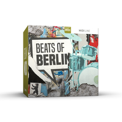 Toontrack Beats of Berlin Drum MIDI Pack