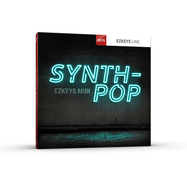Toontrack EZkeys Synth-Pop MIDI Pack