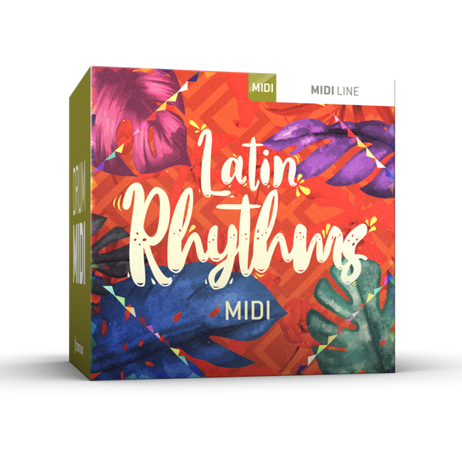 Toontrack Latin Rhythms Drum MIDI