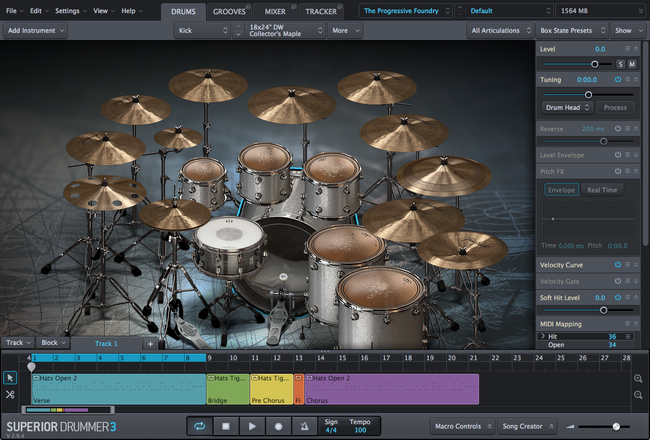 Buy Toontrack SDX: Progressive Foundry