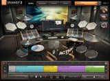Toontrack Action EZX user interface
