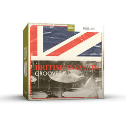 Toontrack British Invasion Grooves Drum MIDI Pack