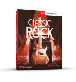 Toontrack Classic Rock EBX expansion for EZbass box