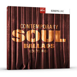 Toontrack EZkeys Contemporary Soul Ballads MIDI Pack
