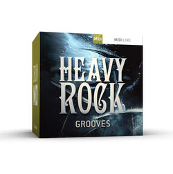 Toontrack Heavy Rock Grooves Drum MIDI Pack Box