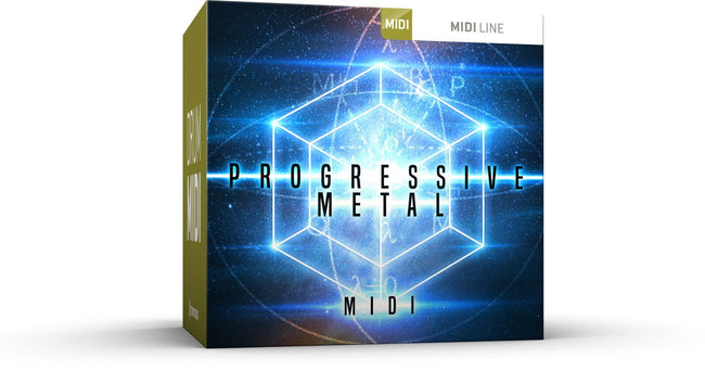 Toontrack Progressive Metal MIDI Pack Box Art