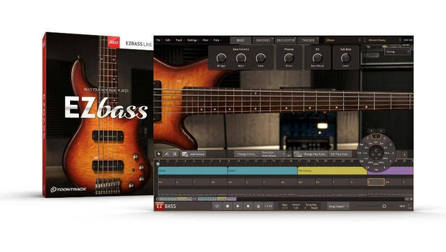 Toontrack EZbass box and GUI