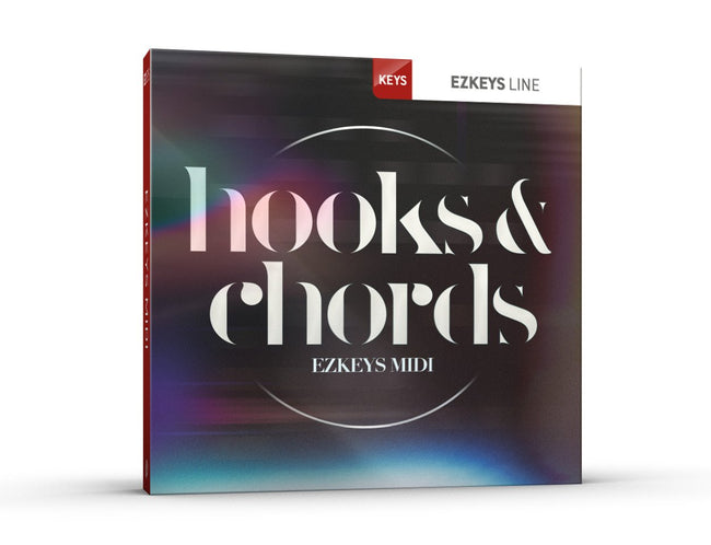 Toontrack EZkeys Hooks and Chords MIDI Pack Cover Art
