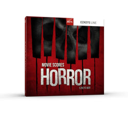 Toontrack EZkeys Movie Scores Horror MIDI Pack Cover Art