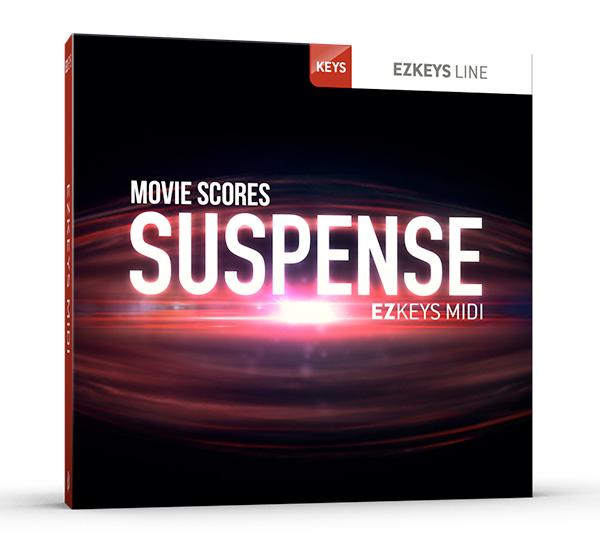 Toontrack EZkeys Movie Scores Suspense MIDI Pack