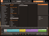 Interface Toontrack EZX UK Pop Browser