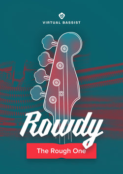 UJAM Virtual Bassist Rowdy Cover Art