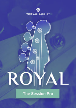 UJAM Virtual Bassist Royal Cover Art