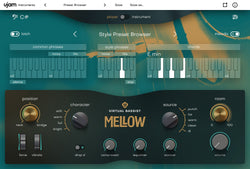 UJAM Virtual Bassist Mellow GUI
