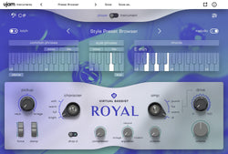 UJAM Virtual Bassist Royal GUI