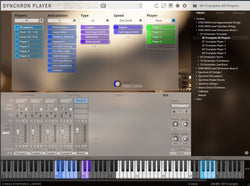 VSL SYNCHRON-ized Dimension Brass I Articulations GUI