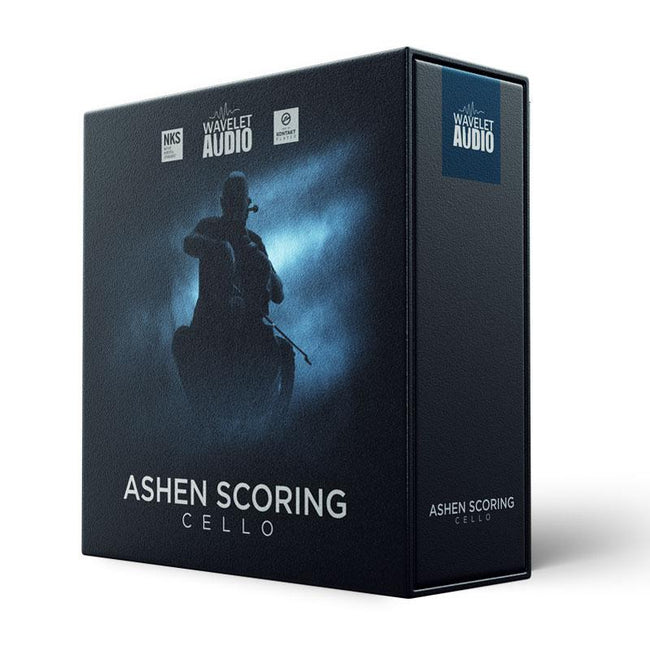 Wavelet Audio Ashen Scoring Cello box image