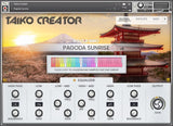 In Session Audio Taiko Creator Global Page GUI