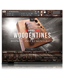 Soundiron Hopkin Instrumentarium: Woodentines interface