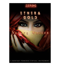 Zero-G Ethera Gold Sahara Voices cover