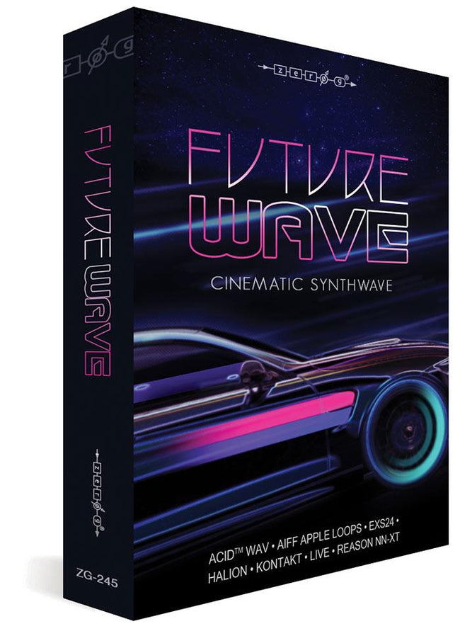 Zero-G Future Wave Sample Library